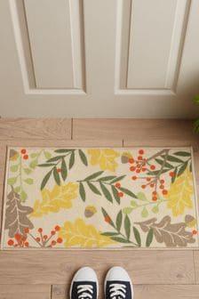 Washable Leaves Doormat