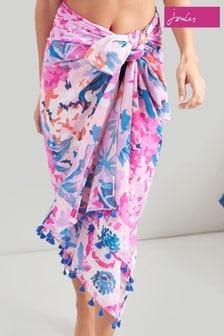 Joules Pink Sirena Sarong
