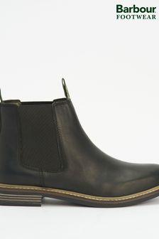 Barbour® Black Farsley Chelsea Boots
