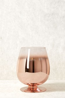 Ombre Hurricane Candle Holder