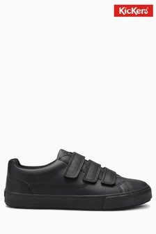 Kickers® Black Tovni Trip Trainer