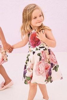 Print Prom Dress (3mths-5yrs)