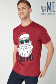 Santa Graphic T-Shirt