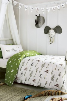 Sophie Allport Safari Duvet Cover and Pillowcase Set