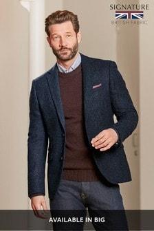 Signature Donegal Slim Fit British Wool Blazer