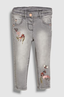 Embroidered Jeans (3mths-6yrs)