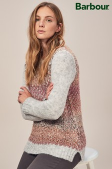 Barbour® Grey And Multi Colour Hamble Knit