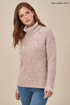 Abercrombie & Fitch Roll Neck Knit Jumper