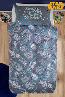 Star Wars™ Speckle Duvet Cover and Pillowcase Set