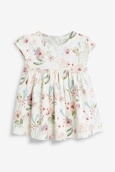 Floral Jersey Dress (0mths-2yrs)