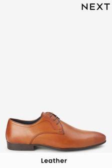 Plain Derby Shoes