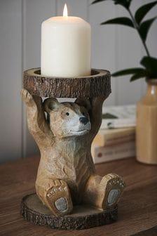 Bear Pillar Holder