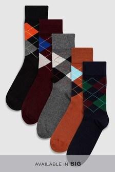 Pattern Socks Five Pack