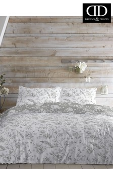 DD Exclusive To Next Vintage Birds Duvet Cover And Pillowcase Set