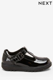 Patent T-Bar Shoes (Older)