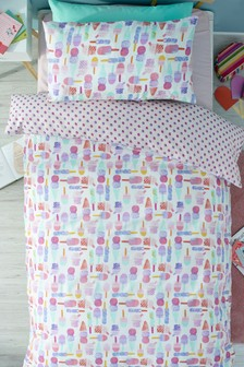 Ice Lolly Duvet Cover and Pillowcase Set
