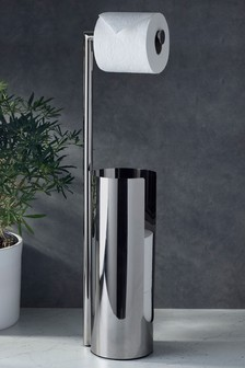 Toilet Roll Stand And Store