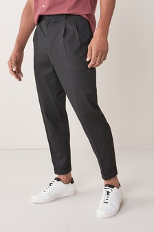 Twin Pleat Formal Trousers