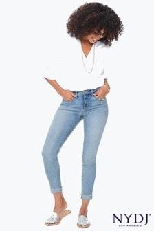 NYDJ® Light Denim Ami Skinny Ankle Jean With Raw Cuff