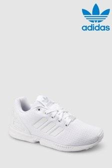 adidas Originals White Flux