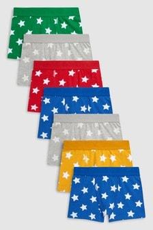 Star Trunks Seven Pack (2-16yrs)