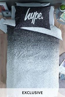 Hype. Mono Ombre Print Bed Set