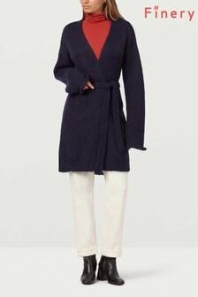 Finery London Laurel Mohair Blend Long Cardigan