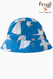 Frugi Organic Oeko-Tex Seagull Sun And Swim Hat