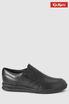 Kickers® Black Troiko Slip-On Shoe