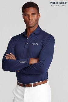 Polo Golf by Ralph Lauren RLX Long Sleeved Sport Polo Shirt
