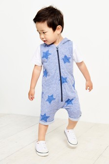 Star All-Over Print All-In-One (3mths-6yrs)