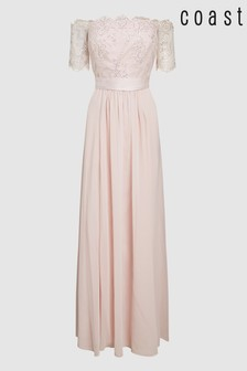 Coast Pink Maddie Maxi Dress