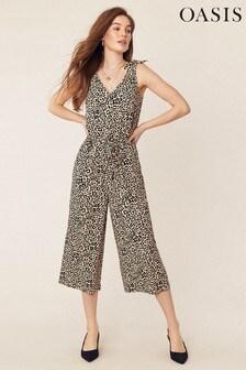 Oasis Animal Print Jumpsuit