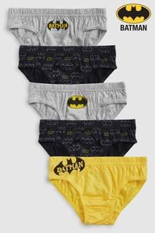Batman® Briefs Five Pack (1.5-8yrs)