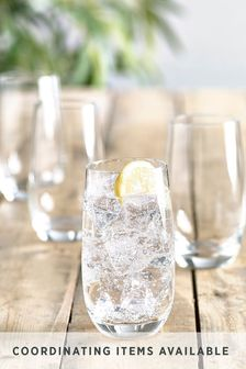 Nova Set of 4 Tumbler Glasses