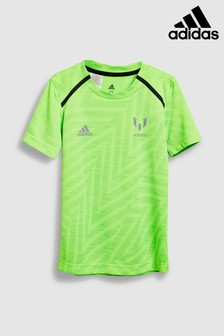 adidas Green Messi Icon Jersey