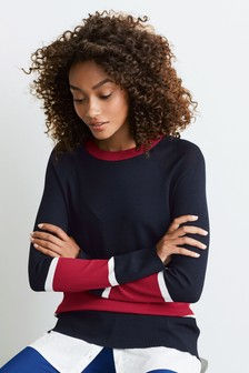 Sport Hem Layer Sweater