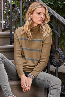 Luxe Roll Neck Sweater