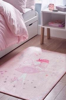 Fairies And Princesses Printed Rug