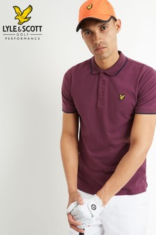 Lyle & Scott Golf Tipped Polo