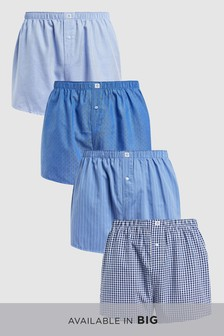 Woven Boxers Four Pack