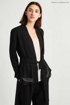 French Connection Black Belted Jacket