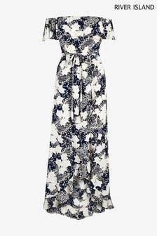 River Island Bardot Maxi Dress