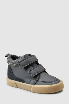 Double Strap Warm Lined Boots (Younger)