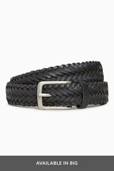 Leather Weave Belt