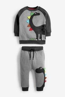 Character Sweatshirt And Joggers Set (3mths-7yrs)