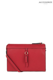 Accessorize Red Charlie Cross Body Bag