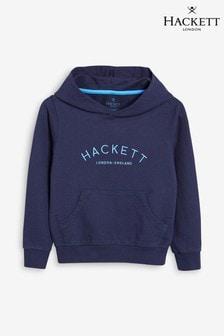 Hackett Blue Mr Classic Hoody