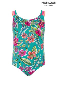 Monsoon Green Hallie Floral Swimsuit
