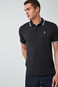 Tipped Badge Polo